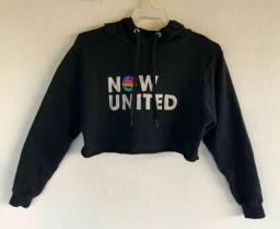 Título do anúncio: Cropped Moletom Now United