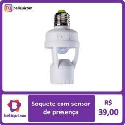 Título do anúncio: Sensor de presença   Soquete  