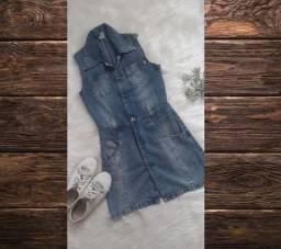 Vestido jeans/ jardineira