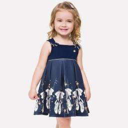 Vestido Infantil Milon (Conjuntos) ALD Clothing.br  NOVO