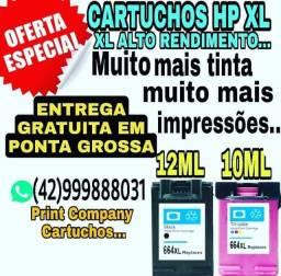 CARTUCHOS HP XL ALTO RENDIMENTO