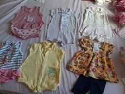 Lotinho roupa 0 A 6 meses menina