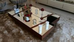 Mesas de Centro para Sala de Estar com Tampos Espelhados