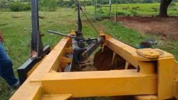 Grade aradora mecânica