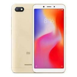 Smartphone xiaomi redmi 6 dourado 64gb 4gb ram original