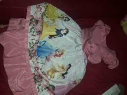 Vestido das princesas