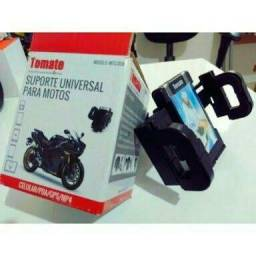 Suporte Celular Gps Moto Bike Universal Iphone Galaxy Waze Honda Triumph Bmw Yamaha