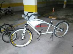 Bicicleta Longa Harley
