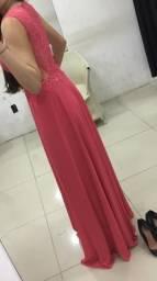 Vestido de festa promoção tamanho p 38
