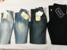 Calças jeans novas R$30,00