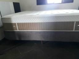 Conjunto Cama Box Queen Size de Molas Ecoflex Excellence