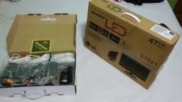 Kit 4 câmeras, monitor e dvr