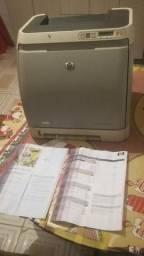 Impressora HP Laserjet 4 cores imprime até fotos