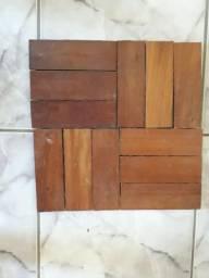 Tacos de madeira Peroba usados