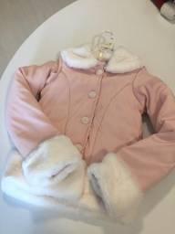 Jaqueta forrada para frio