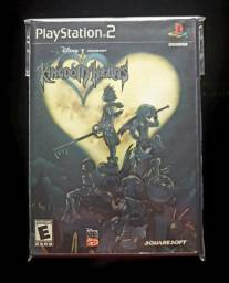 Kingdom Hearts 1 e 2 originais para ps2