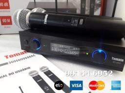 Últimos! Microfones sem fio MT2207 UHF, sem chiado e sem interferências, aprovado!