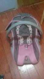 Bebê conforto e cadeira de papá