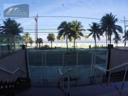 Apartamento com 2 dormitórios para alugar, 76 m² por R$ 2.540/mês - Aviação - Praia Grande