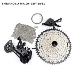 Grupo Shimano SLX M7100 - 12 velocidades