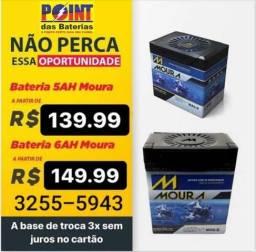 Título do anúncio: Bateria de Moto 5 AH,  6 AH,  7 AH,  8 AH, 10 AH,12 AH . Entrega e Instalação Grátis