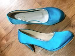 Sapato novo cetim 37