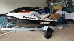 Jet ski sea doo GTI 130 2012 Freio e Ré ( Nunca Foi ao Mar ) - 2012