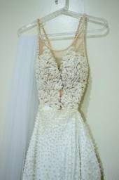 Vende vestido de noiva 2 em1