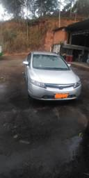 HONDA CIVIC LXS 1.8 FLEX  2008