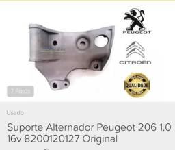 Suporte Alternador para Peugeot 206 1.0 original