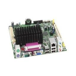 Placa mãe mini ITX, Intel D525MW c/ Atom D525, V/A/LAN
