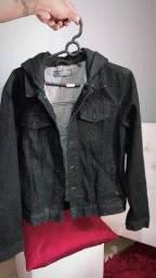 Jaqueta jeans com Capuz Nova 100 reais