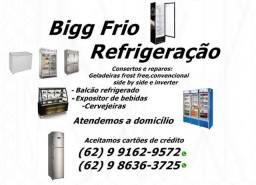 Freezer\Geladeiras\Cervejeiras:Consertos e manutenção-Atendimento a domicílio