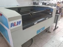 Vendo/troco maquina corte laser 100 wts 1,00x0.90