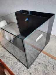 Aquário Novo 6 vidro (sump traseiro)