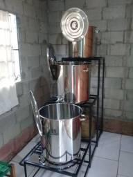 Kit de Equipamentos para Fabricação de Cerveja Artesanal