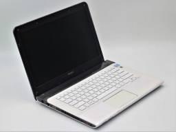 Título do anúncio: Notebook Sony SUE14132CXW core i3 500GB HD 4GB ram NF até 12x