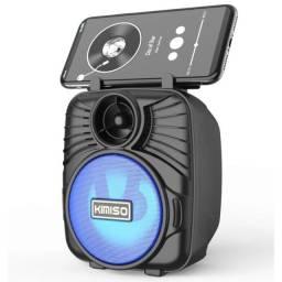 Título do anúncio: Caixa de Som Bluetooth Portátil com cartão SD Rádio FM Pen Drive