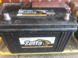 Bateria zetta 100 ah caixa alta