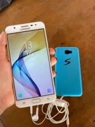 Samsung Galaxy J7 prime Branco e Dourado 32 Gb