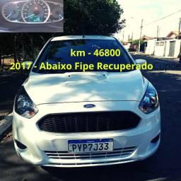 Ford Ka  SE 1.5  2017 (Completo) KM Baixo Vídeo