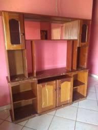 Título do anúncio: Estante de Madeira troco celular ou mesa 4 cadeira