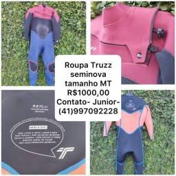 Roupa de Borracha Surf Truzz Seminova MT   R$ 1.000,00