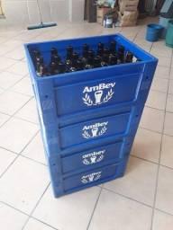 Título do anúncio: 4 caixas de cerveja skol (gorduchinha) com vasilhame