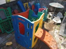 Playground mundo azul