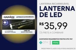 Título do anúncio: Lanterna Kinsach Tatica H-516 Led Q5 145000 Lumens