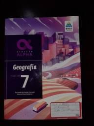 Livro de geografia Alpha 7º ano