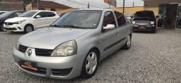Clio sedan 1.0 Completo, Legalizado baixo, ano 2007