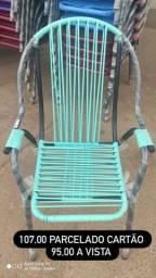 Cadeiras de fibra. Vários modelos