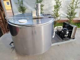 Tanque de 750 Litros Resfriador Agranel Inox